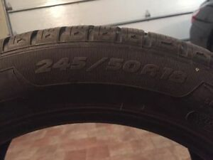 Selling BMW Winter Tires 18inches, very good condition. Montreal