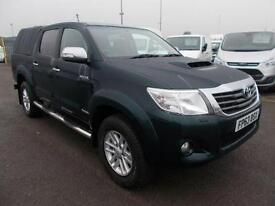 Toyota Hilux Invincible D/Cab Pick Up 3.0 D-4D 4Wd 171 DIESEL MANUAL (2013)