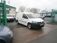 Volkswagen Caddy Maxi 1.6TDI 102ps DIESEL MANUAL WHITE (2013)