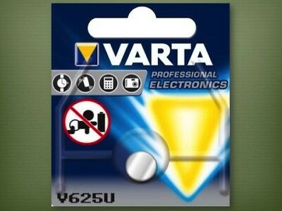 2 x Varta V625U Alkaline Knopfzelle Batterie  LR9 PX625A EPX625G  Blister