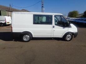 Ford Transit Low Roof D/Cab Van Tdci 100Ps DIESEL MANUAL WHITE (2013)