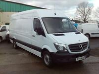 Mercedes-Benz Sprinter 313cdi lwb H'Roof 130ps New Shape DIESEL MANUAL (2014)