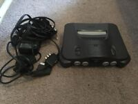 nintendo 64 console fully working