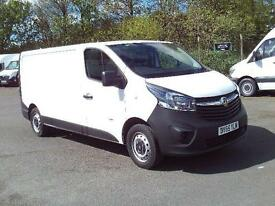 Vauxhall Vivaro LWB 1.6 CDTI 115ps 2.9t Van DIESEL MANUAL WHITE (2015)
