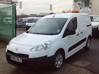 Peugeot Partner 850 S 1.6HDI 92ps DIESEL MANUAL WHITE (2013)
