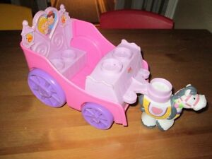 5 $ caleche de fisher-price imppecable