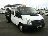 Ford Transit T350 MWB TIPPER TDCI 100PS D/CAB DIESEL MANUAL WHITE (2012)