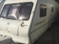 Bailey senator Montana 5/6 berth twin axle touring caravan