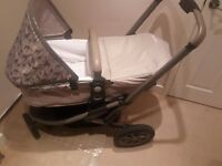 Mothercare Xpedior Pram - Pushchair Travel System including Baby Car Seat