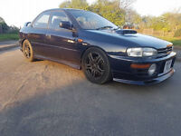 IMPREZA JDM WRX ONLY 1 UK OWNER LAST 10 YEARS APX 300 BHP