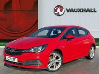 2017 Vauxhall Astra 1.4i Turbo Sri Vx Line Nav Hatchback 5dr Petrol 150 Ps Hatch