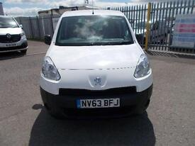 Peugeot Partner 716 S 1.6 Hdi 92 Crew Van DIESEL MANUAL WHITE (2013)
