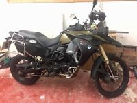 BMW F800GS ADVENTURE - Limited Edition (Kalamata - 2015)