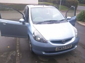Honda Jazz 1.4 with 12 Months MOT. Excellent Drive and Good Economy