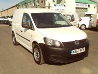 Volkswagen Caddy 1.6TDI 75ps Startline DIESEL MANUAL WHITE (2013)