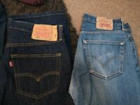 Mens Levis Jeans, Next chinos all branded and 3/4 holiday pants. Some brand new