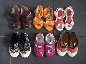 Girls shoes bundle size 7