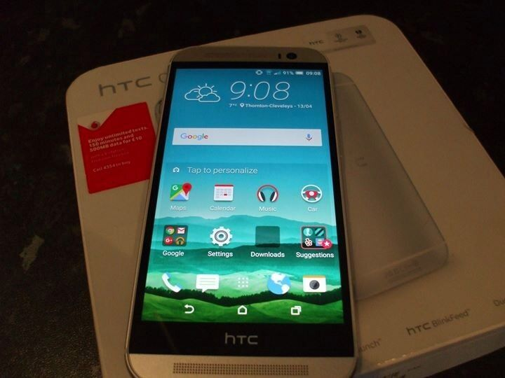 Htc One M8in Thornton Cleveleys, LancashireGumtree - Htc one m8 mint no scratches with case original box and charger unlocked to any network as bought sim free £80 collect cleveleys