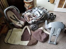 Graco Travel System With Car Seat And Extras