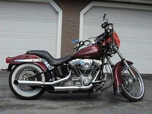 2002 Harley Davidson Softail FLS, Lady driven, Dealer maintained