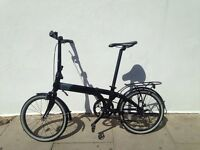 ** Tern Uno Link Fold Up Bike** with **Bern Helmet** and **Kryptonite D Lock** EXCELLENT CONDITION