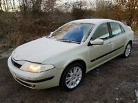 BARGAIN!!! Low mileage Renault Laguna **MOT JULY 2018**78000 MILES**Clean & Tidy**Ideal family car**