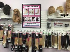 REAL HAIR EXTENSION STORE IN STORE IN ST JOHNS - LOW PRICES -ALL COLORS IN STOCK NOW