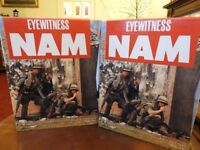 Collectable Eyewitness Nam: magazines - Boxed