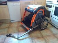 Halfords Double Bike Trailer Hardly used