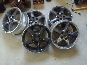 5 rims from mazda, 16in , 5 lug 4.5 inch or 114.3mm