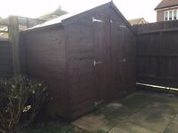 4x8ft Tongue and Groove Apex Shed