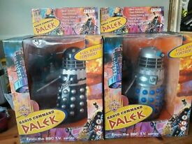 2 Radio Command Daleks