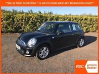 2011 61 Mini Mini 1.6 Cooper BLACK WITH ONLY 57,000 MILES FROM NEW, WARRANTY