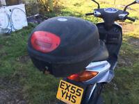 Yamaha Cygnus 125cc - Scooter project.