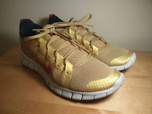 Nike Free Powerlines Gold Medal