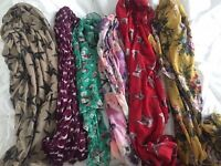 Selection of Chiffon Scarves