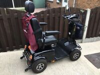 RASCAL PIONEER HEAVY DUTY 8 MPH 2016 MOBILITY SCOOTER WITH REAR HOLD-ALL