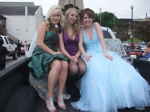 Looking to sell my baby blue grad dress