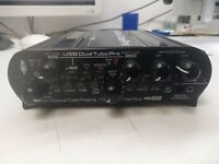 For sale used usb dual tube preamp interface