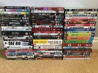 Job lot of 64 DVD's