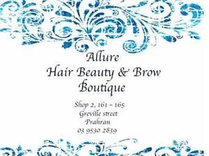 Allure Hair Beauty & Brow Boutique Prahran Stonnington Area Preview