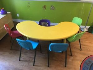 daycare furniture and toys in EUC