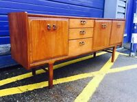 Mid Century Teak Sideboard by Nathan Furniture - Retro and Vintage
