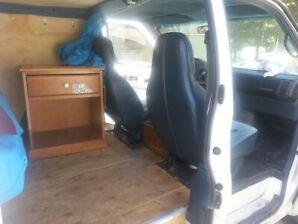 Chevrolet Astro 1995 amenaged camper van