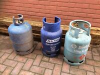 Gas Bottles £5 each
