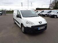 Peugeot Partner L1 850 S 1.6 HDI 92BHP VAN DIESEL MANUAL WHITE (2012)
