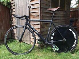 Dolan Fixie Bike Cambridge with brooks saddle
