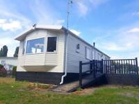 Fully equipped DG CH static caravan with Decking and Shed at Billing Aquadrome.