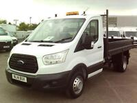 Ford Transit T350 TDCI S/Cab 100PS DIESEL MANUAL WHITE (2014)