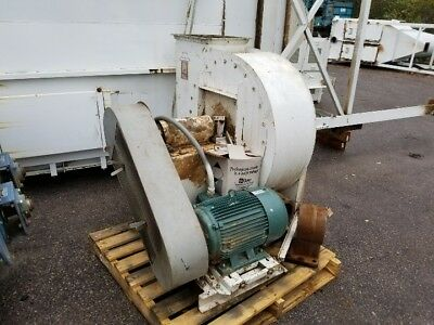 Buffalo 30 Hp Fan Blower For Ventilation Or Dust Collection Working Condition